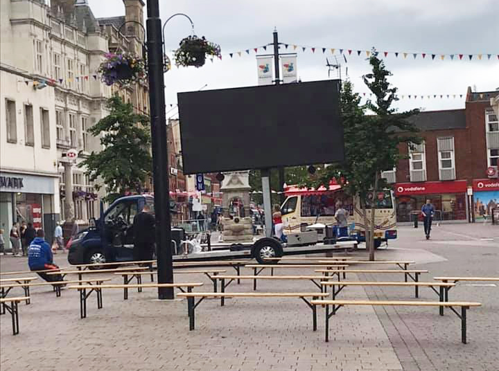 The first big screen event is coming to Loughborough to show the Wimbledon finals!