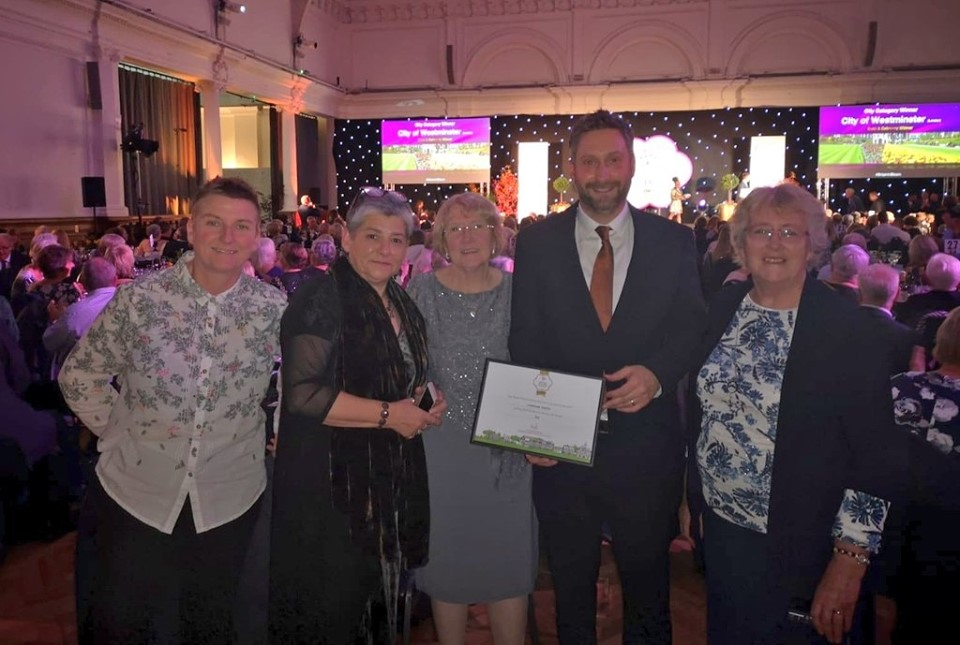 Loughborough wins Gold in the Britain in Bloom Finals!!