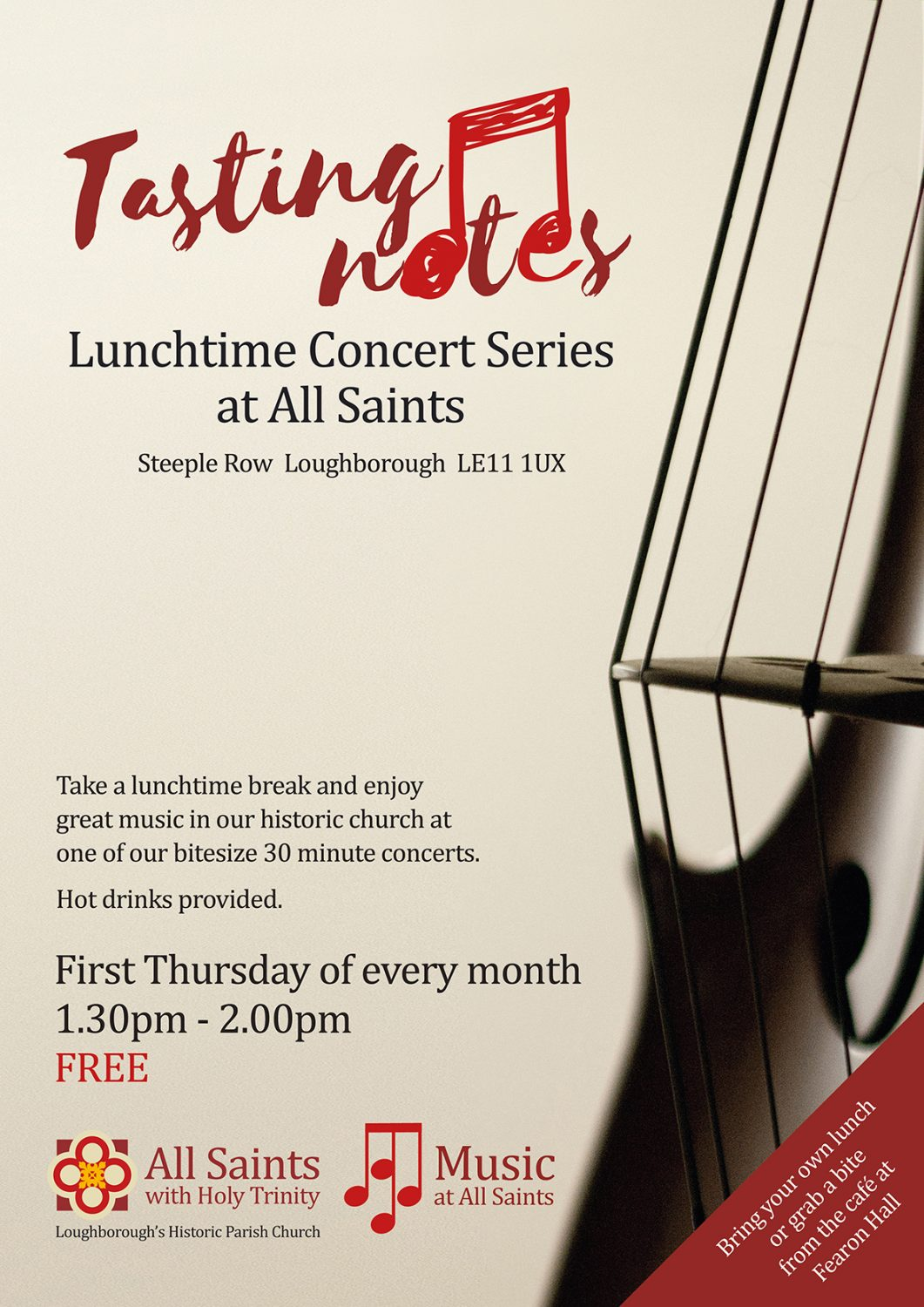 Lunchtime Concerts Series at All Saints Church