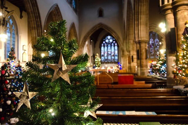 Christmas Tree Festival at All Saints Church