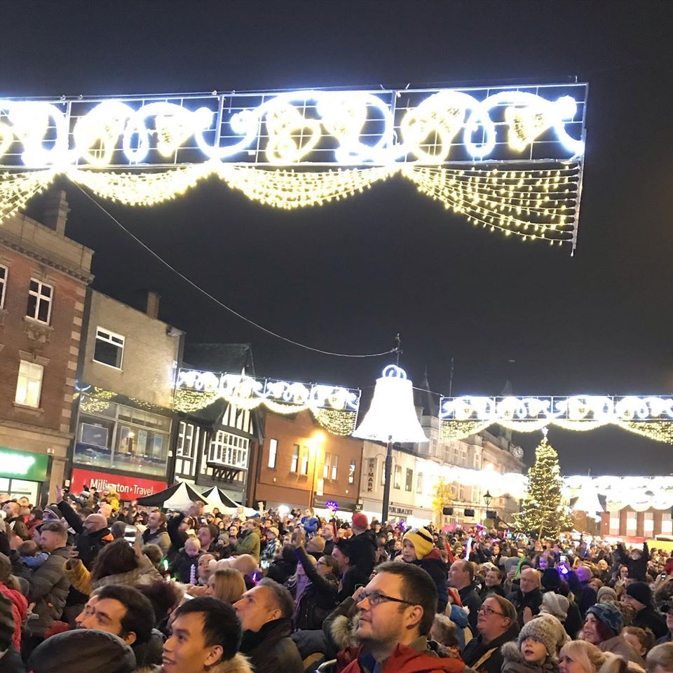 Loughborough's Christmas Light Switch on!