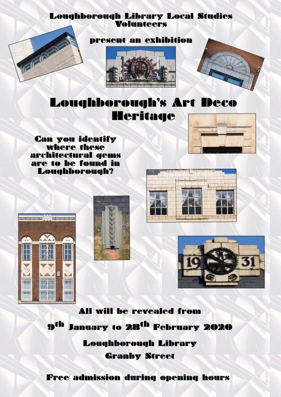 New Exhibition coming soon: 'Loughborough's Art Deco Heritage'