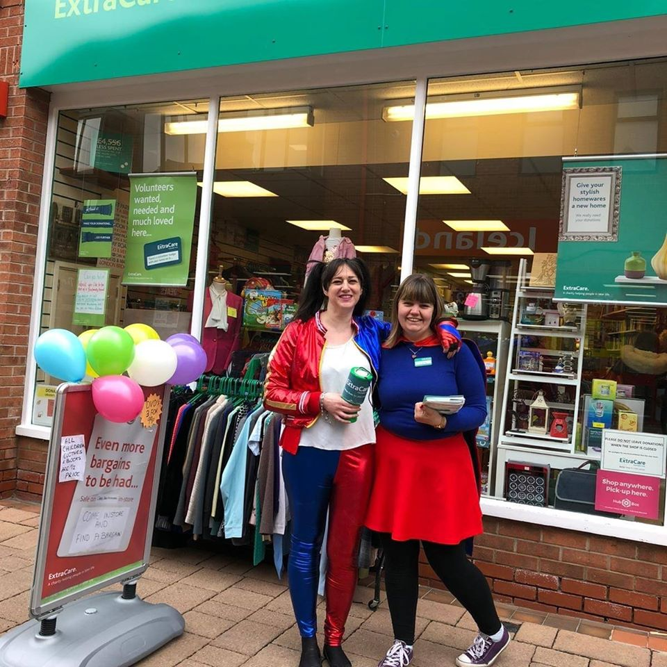 Extra Care Charitable Trust is accepting clothes donations