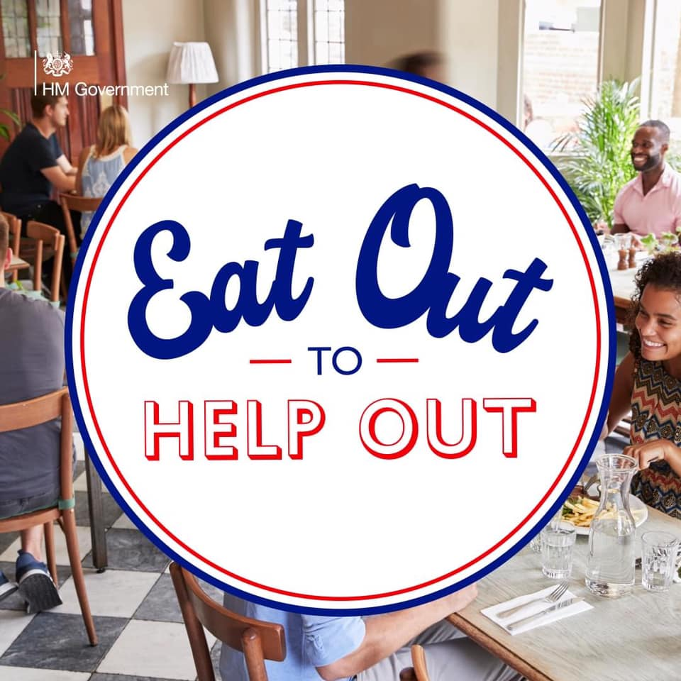 'Eat Out to Help Out' trail is now live on the Loyalfree app!