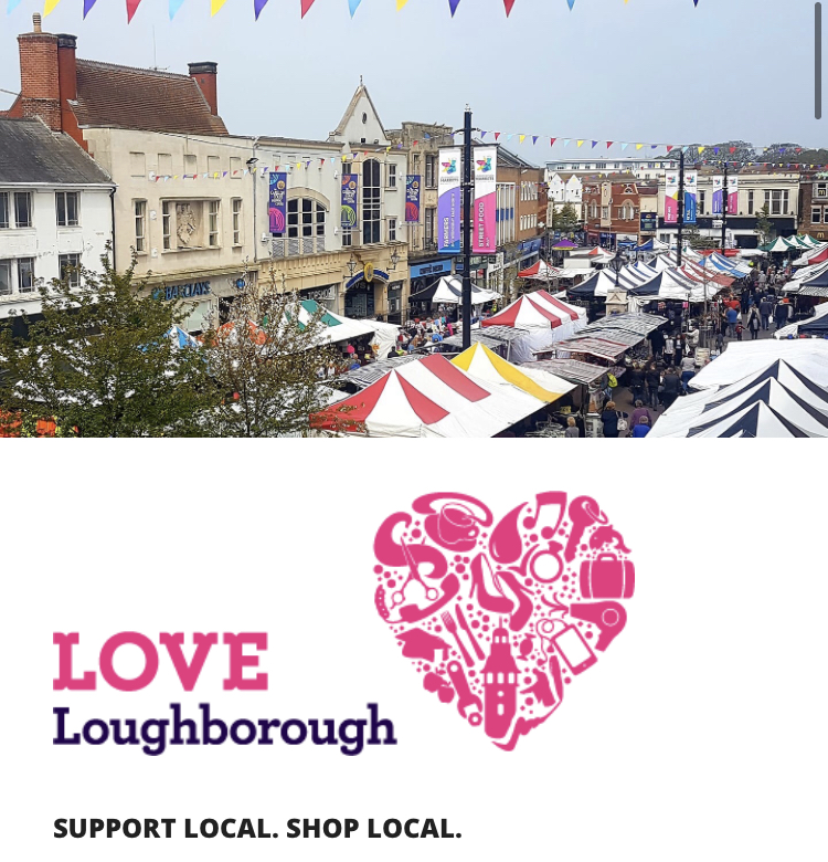 Love Loughborough challenges Amazon and urges customers to Shop Local
