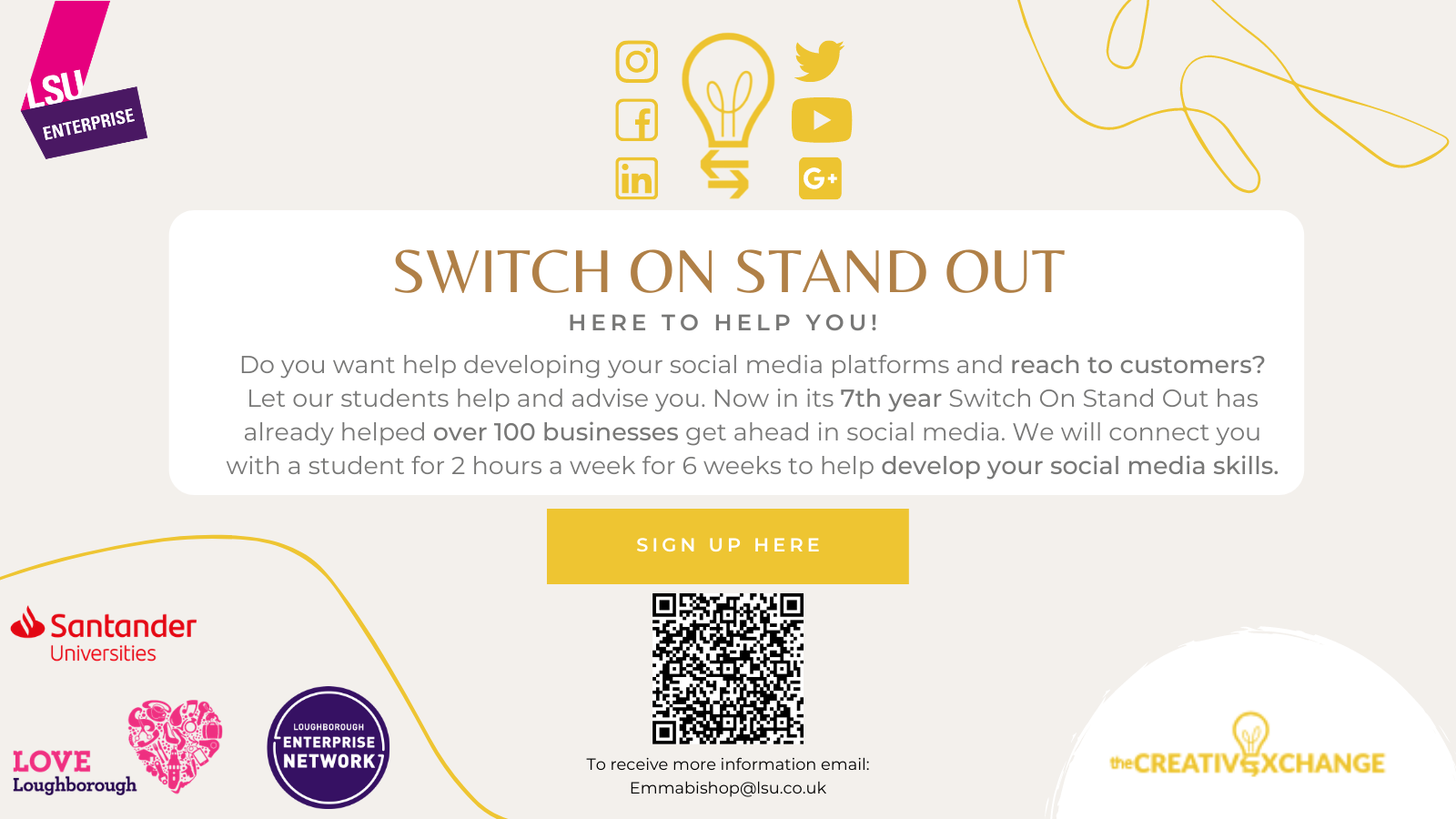 Switch On Stand Out